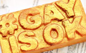 #GAYISOK Soap from Lush