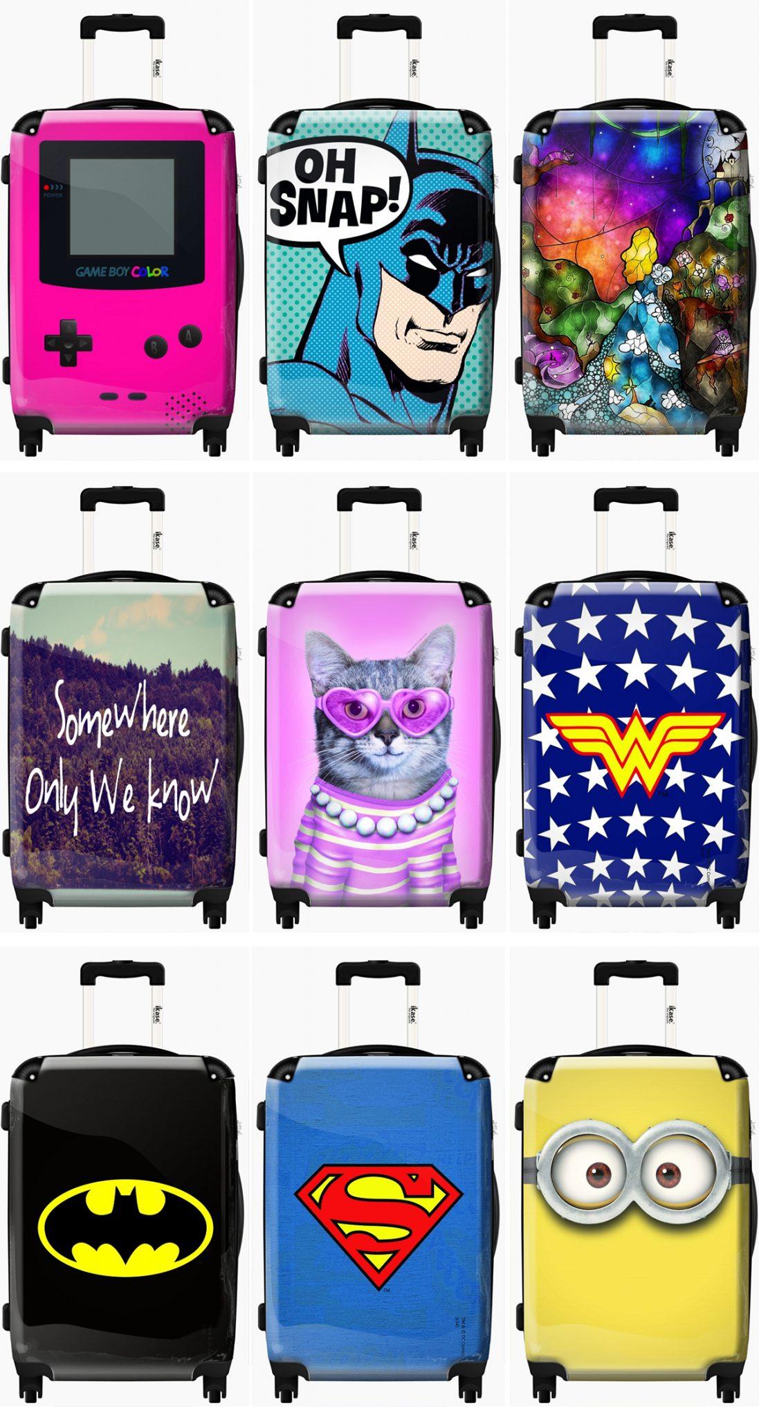 iKase - Personliga resväskor