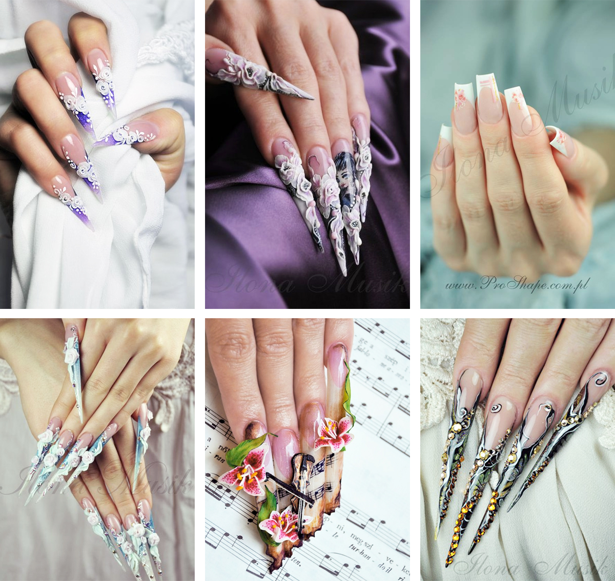 Amazing nails by the nail artist Ilona Musik