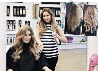 Hårförvandling hos Poze Hair
