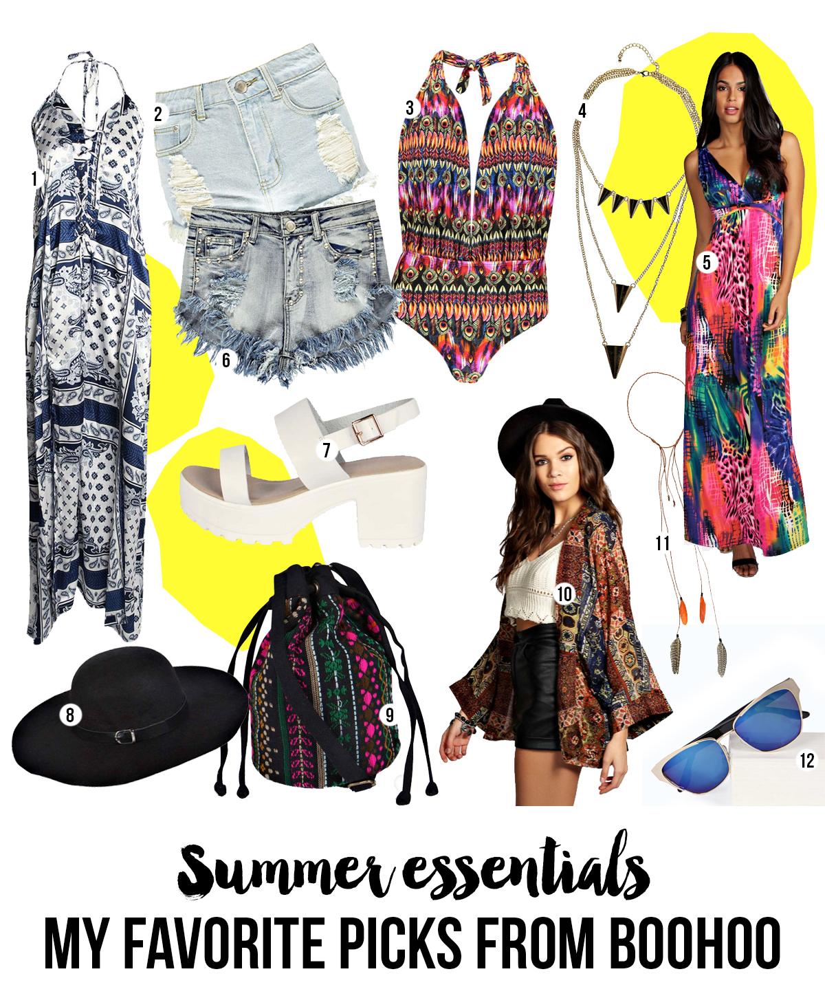 Summer Essentials: My Favorite Picks from Boohoo