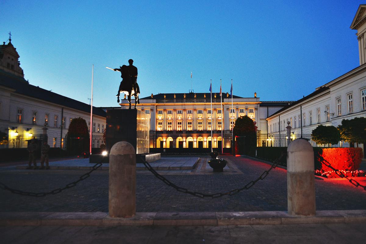 Presidentpalatset i Warszawa