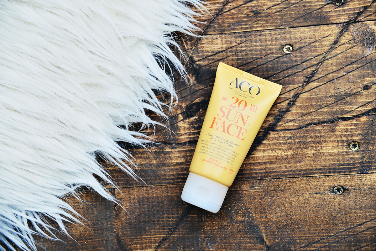 ACO Sun Mattifying Face Sun Cream SPF 20