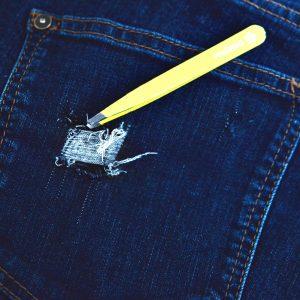 DIY: Slitna jeansshorts