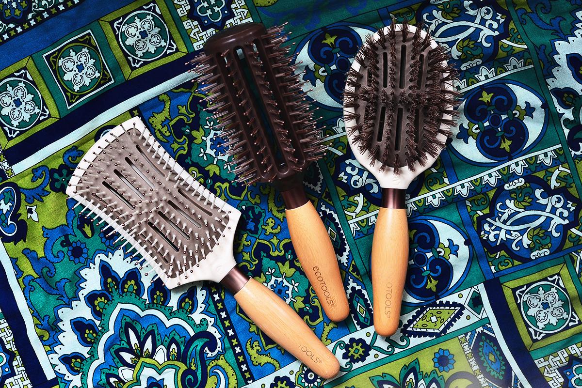 EcoTools hårborstar