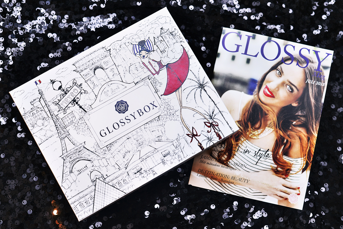 Glossybox Juli 2015: The Travel Edition