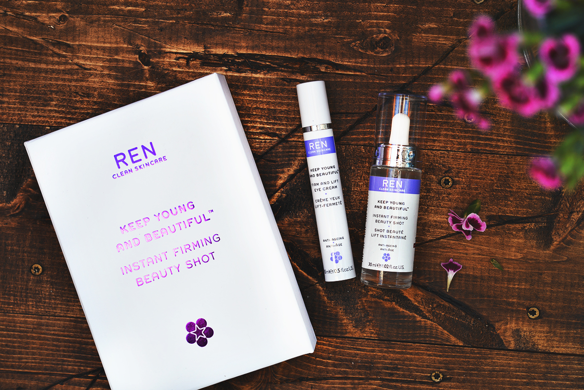 REN Skincare Keep Young & Beautiful Instant Firming Beauty Shot