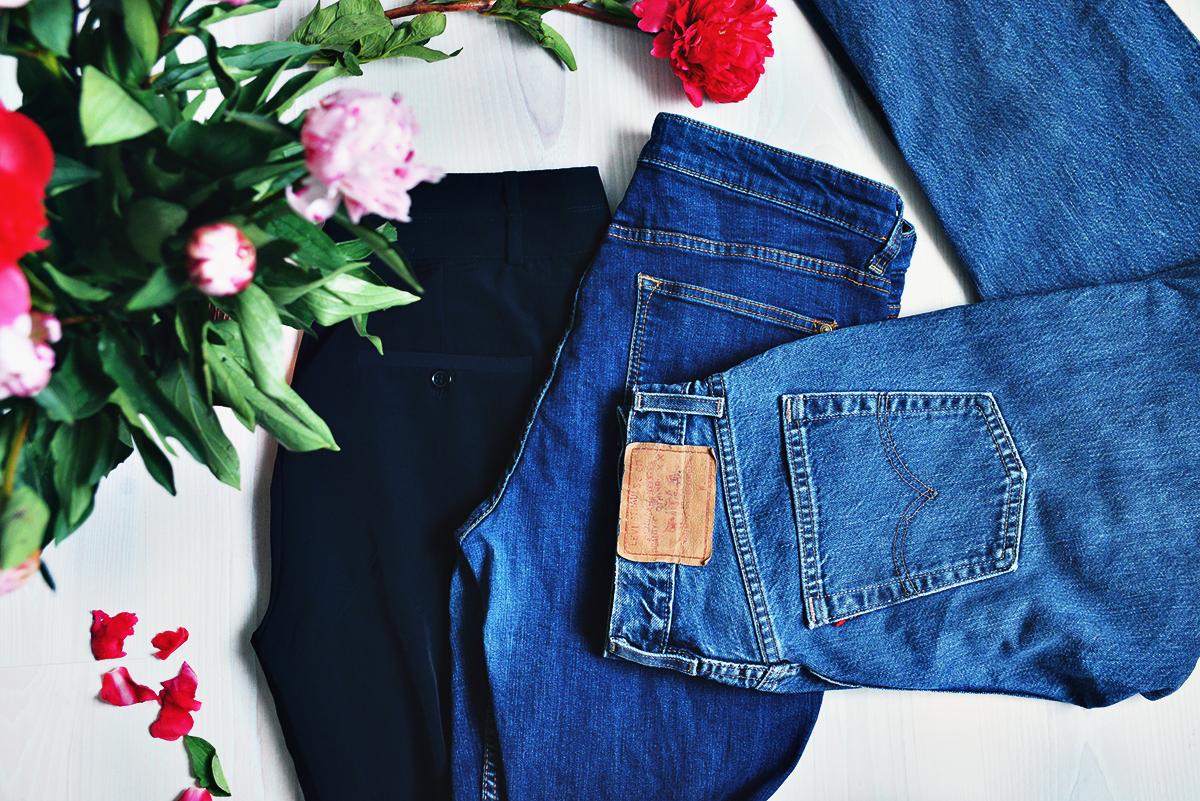 Second Hand-fynd i Nynäshamn - Levis-jeans för 10 kr
