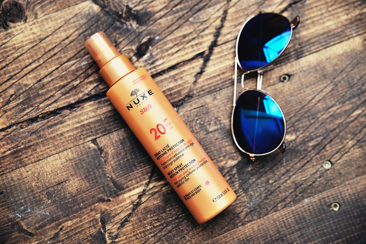 NUXE Sun Milky Spray Face & Body SPF 20