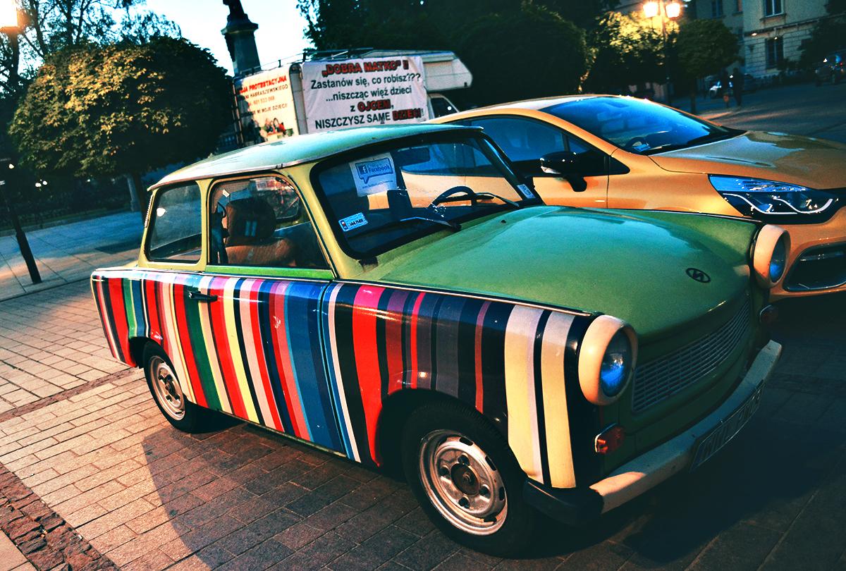 Sötaste bilen i Polen?