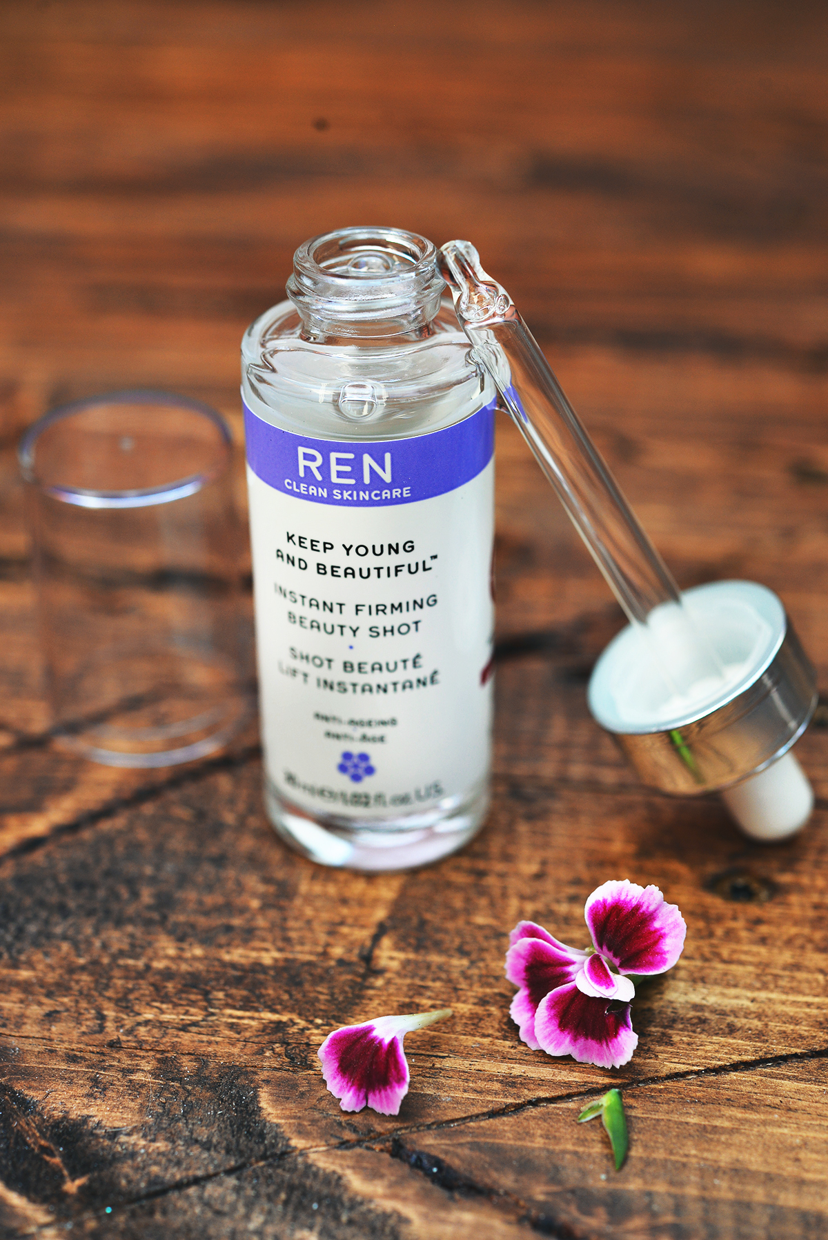 REN Clean Skincare Keep Young & Beautiful Instant Firming Beauty Shot