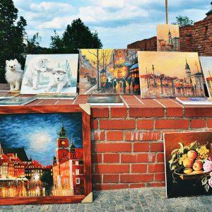 Polska målningar