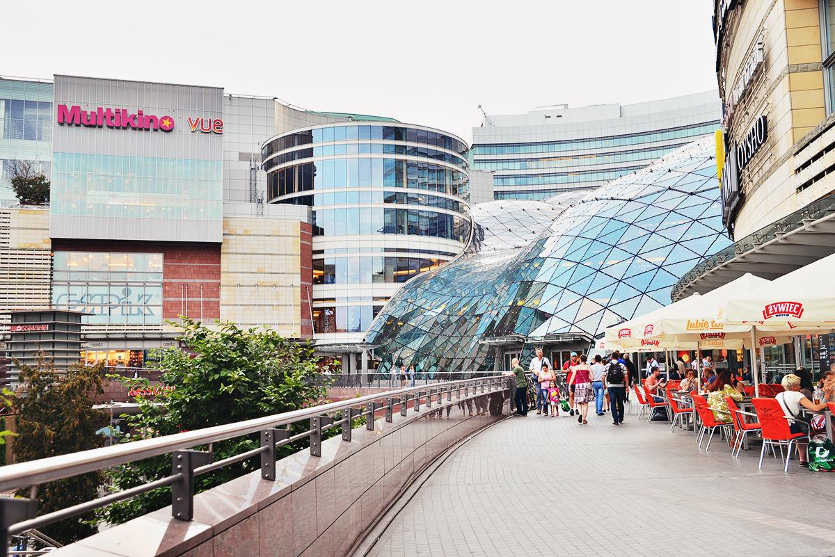 Złote Tarasy - Shopping i Warszawa