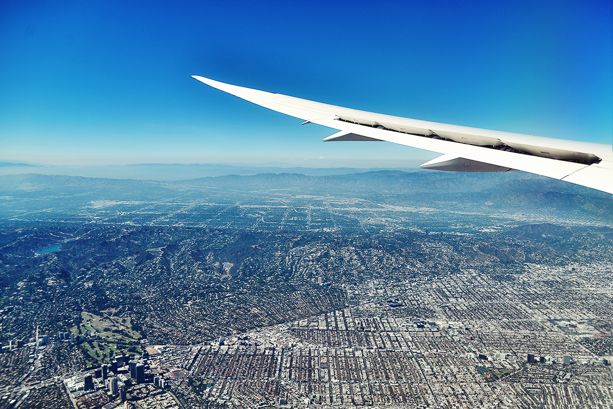 California from above