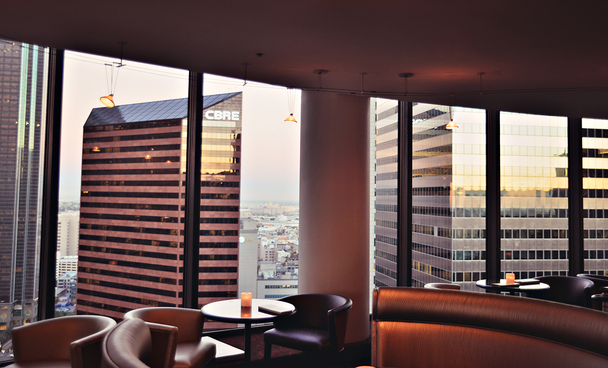 View from The Westin Bonaventure Hotel & Suites