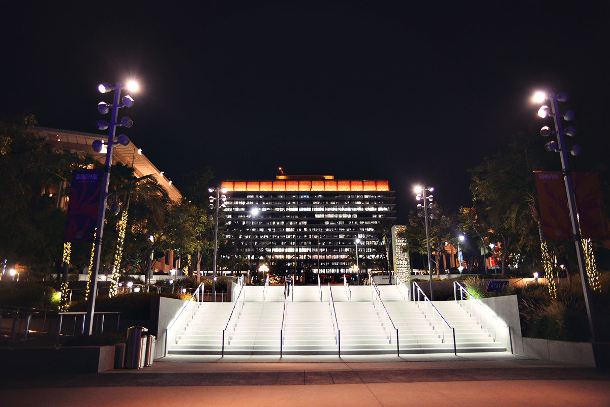 Grand Park in Los Angeles