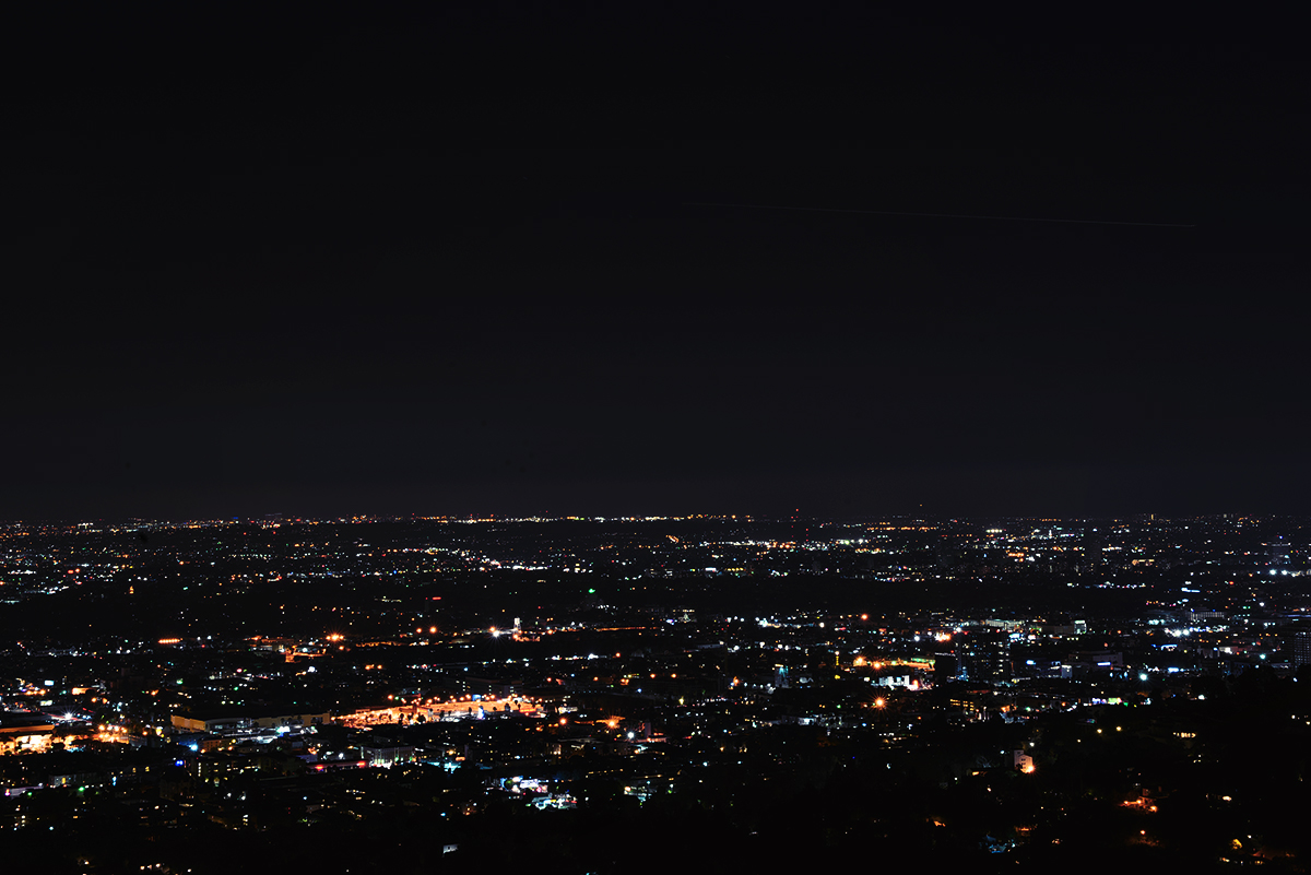Los Angeles by Night - Griffith Observatory