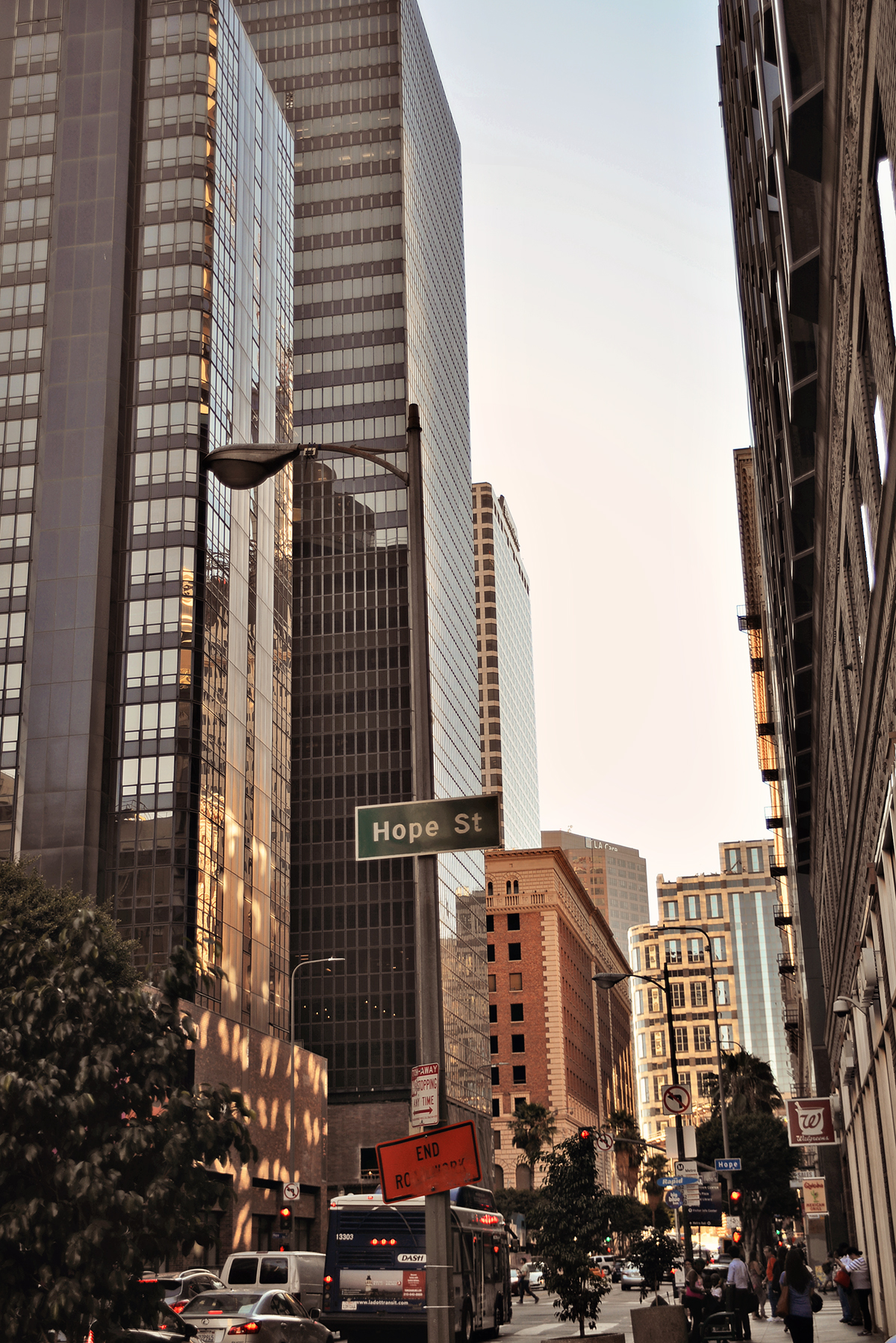 Hope Street Los Angeles