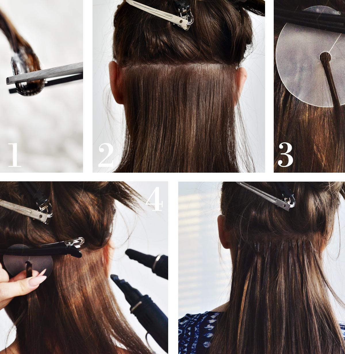 Steg för steg: Så sätter du i nail hair extensions hemma!