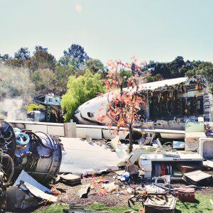 Crash scene - Studio Tour