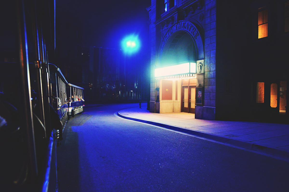 Nighttime Studio Tour