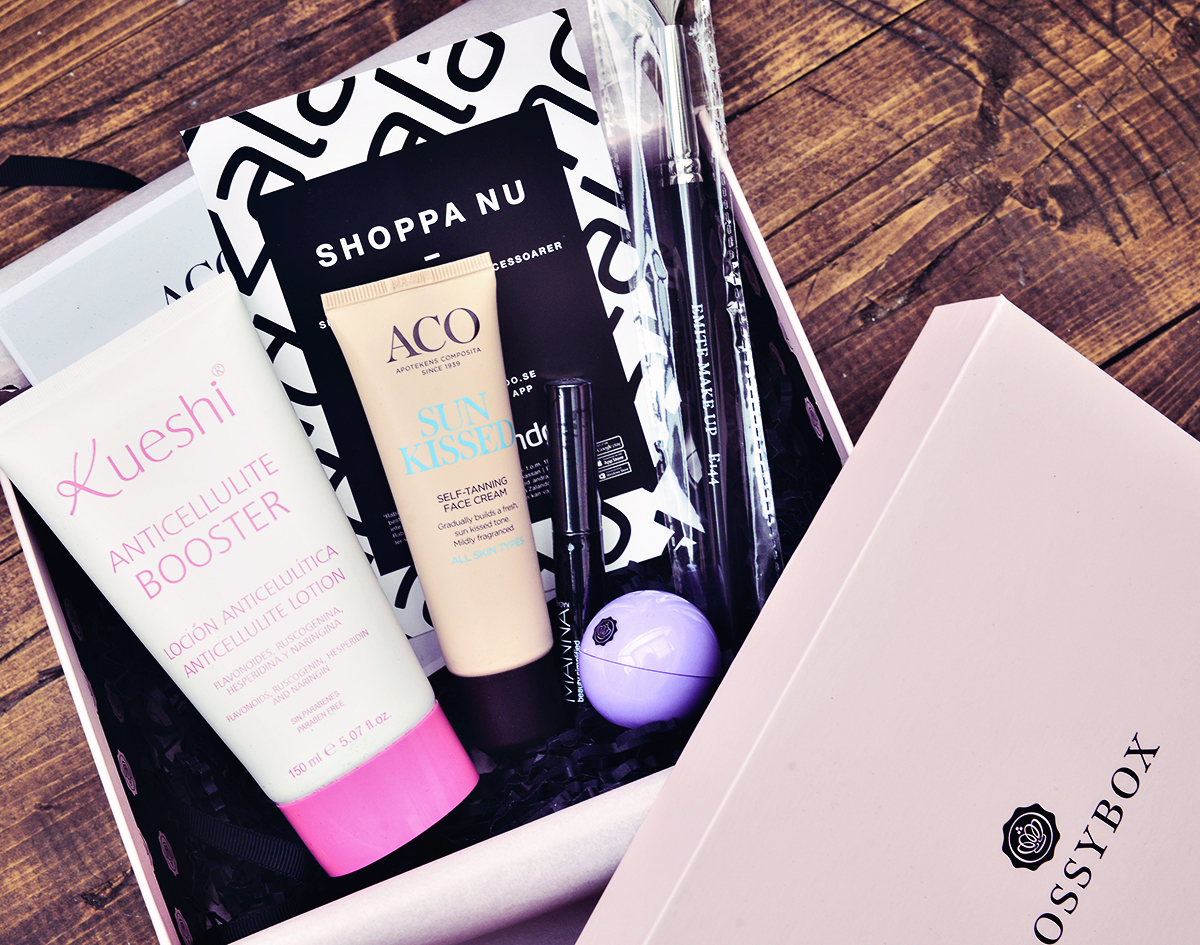 Glossybox augusti 2015: Front your beauty