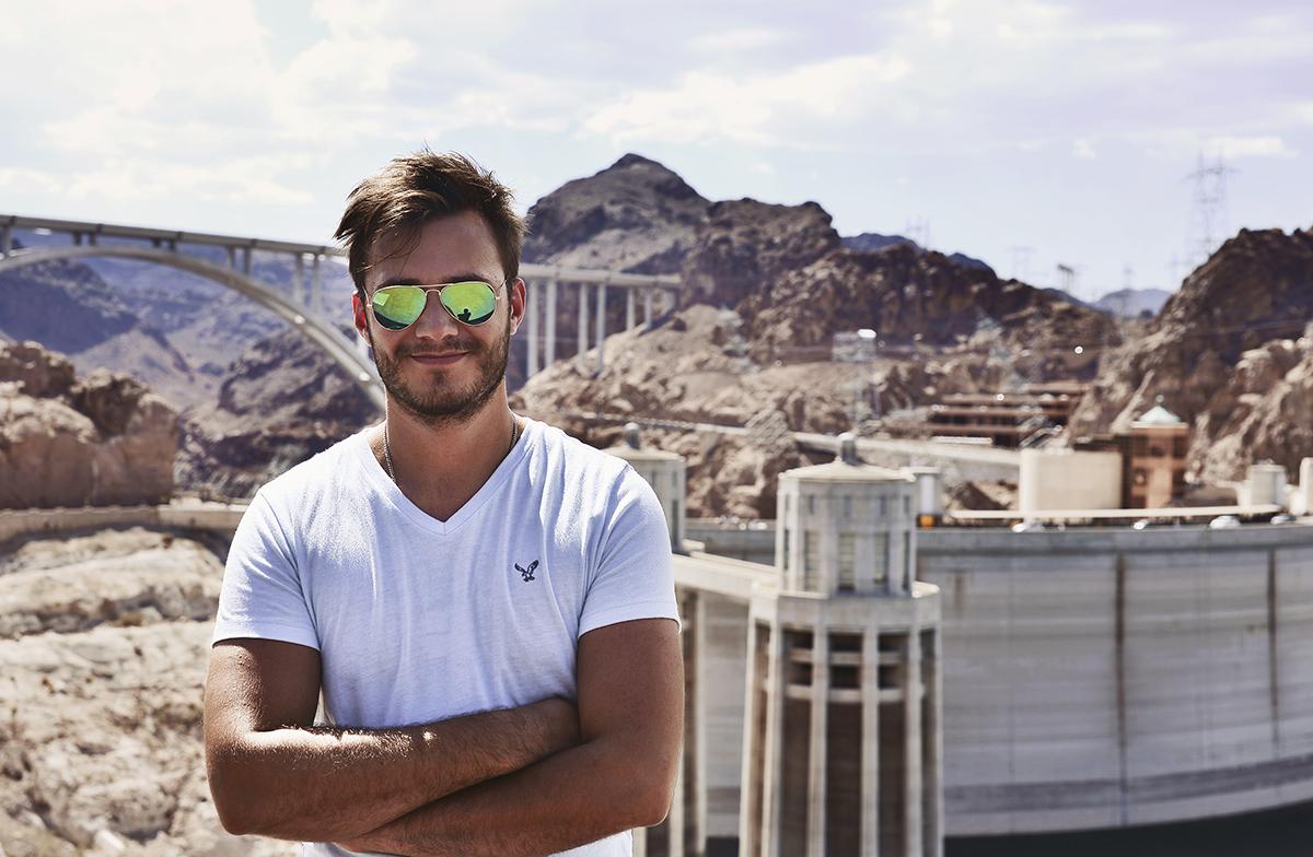 Simon Hallie Eriksson - Hooverdammen