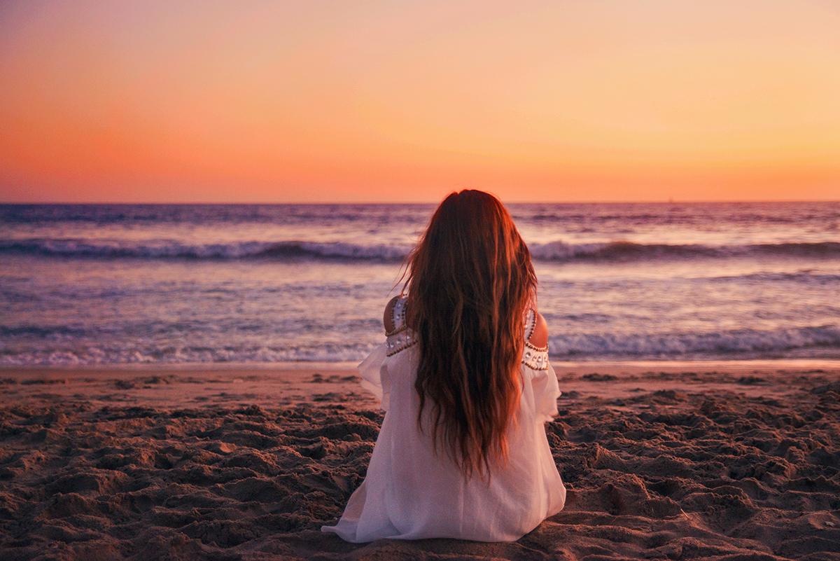 Long hair - Santa Monica Beach
