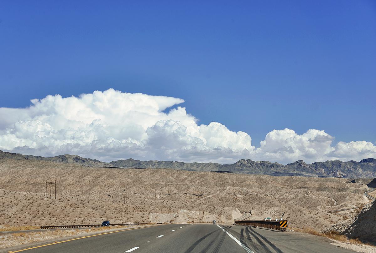 Väg i Arizona