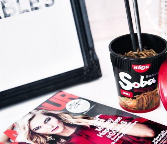 SOBA Cups Premium Noodles Chili