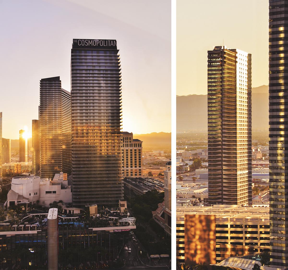 The Cosmopolitan - Las Vegas Sunset