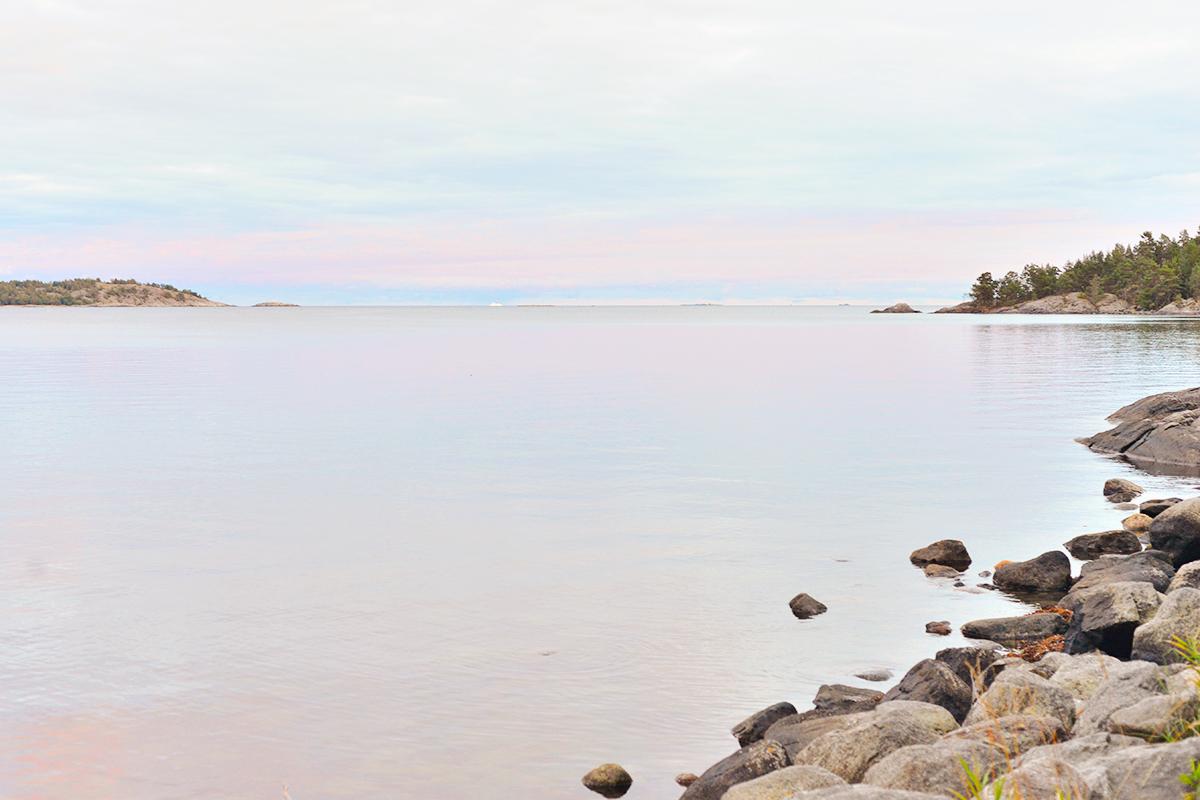 Strandvägen i Nynäshamn