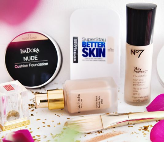 BÄST I TEST: 5 Nya foundations 2015