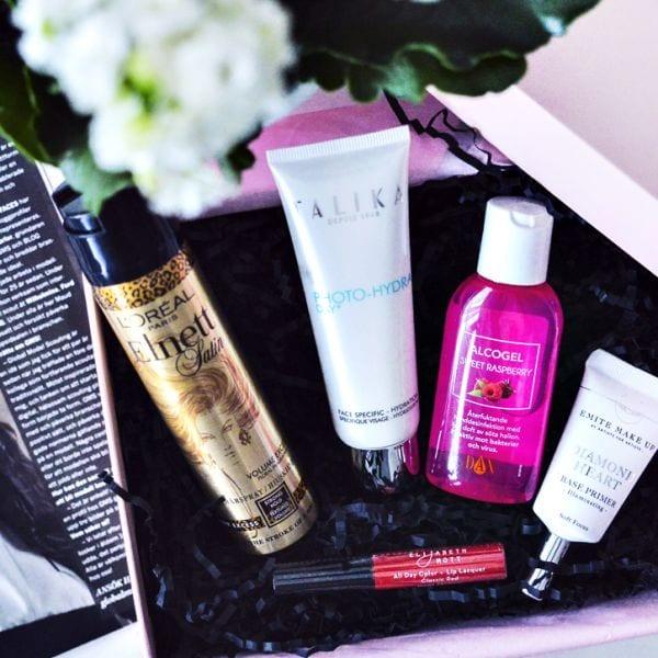 Glossybox Oktober 2015: Ray of Beauty