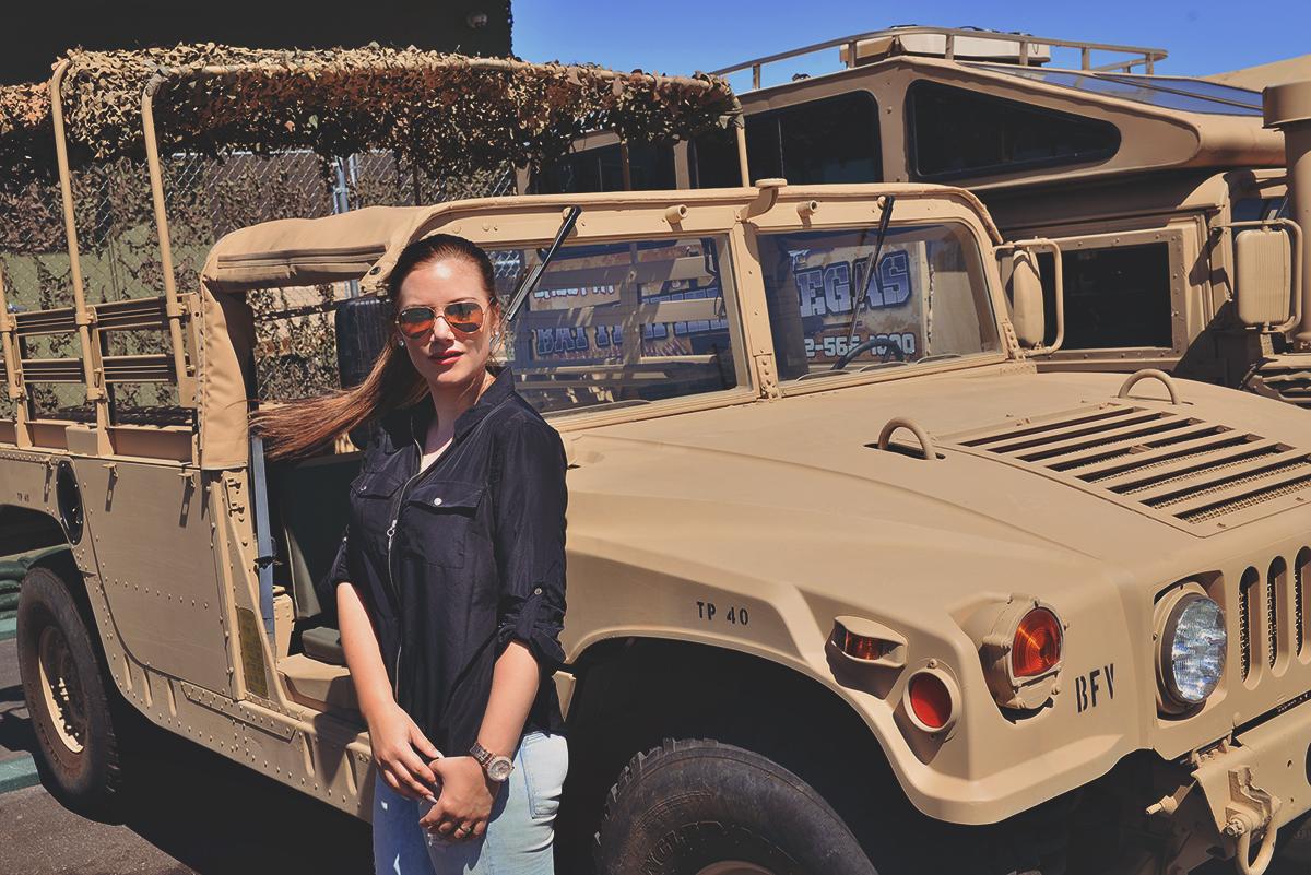 Humvee at Battlefiled Las Vegas