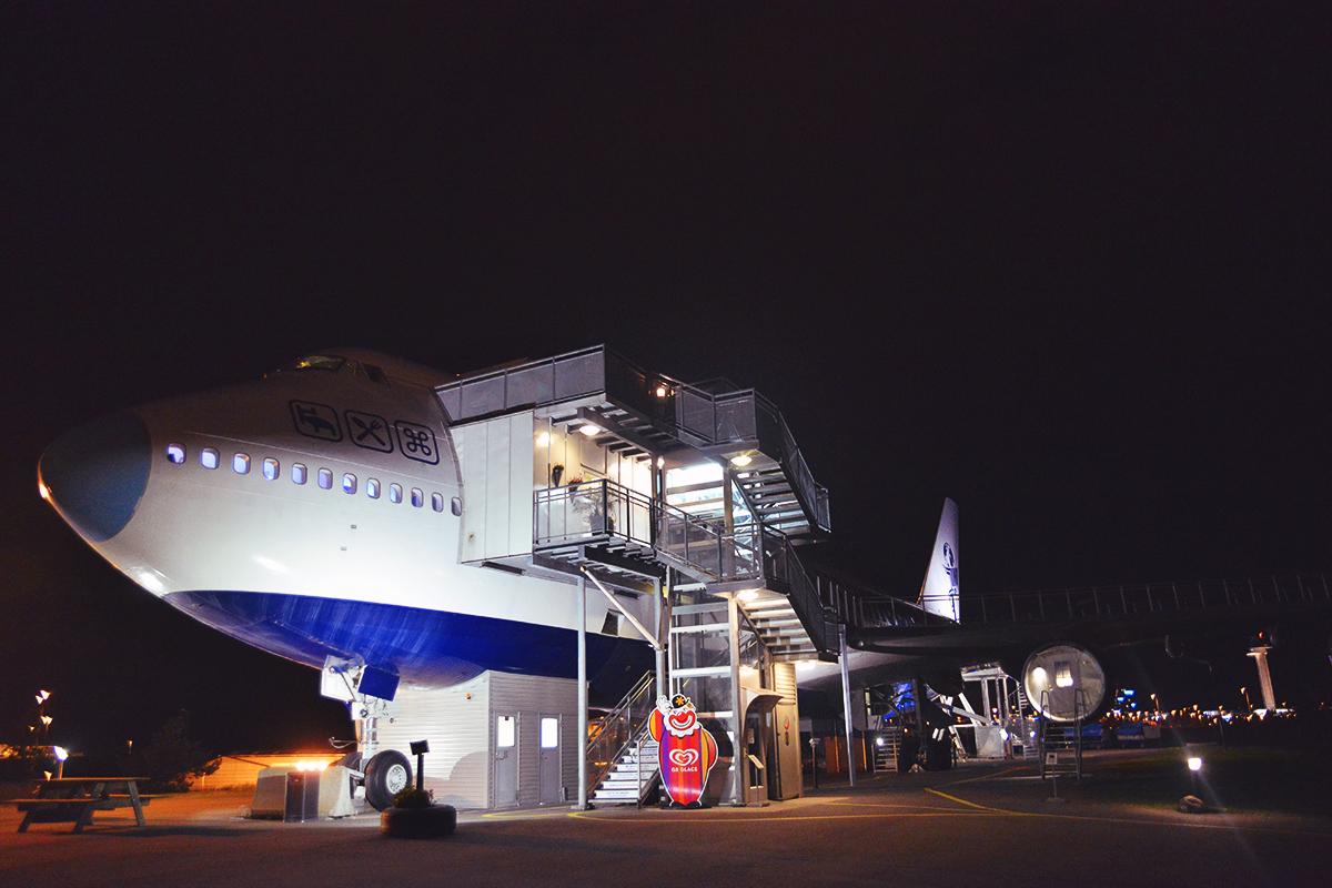 Jumbo Stay - Flygplanshotell i Stockholm