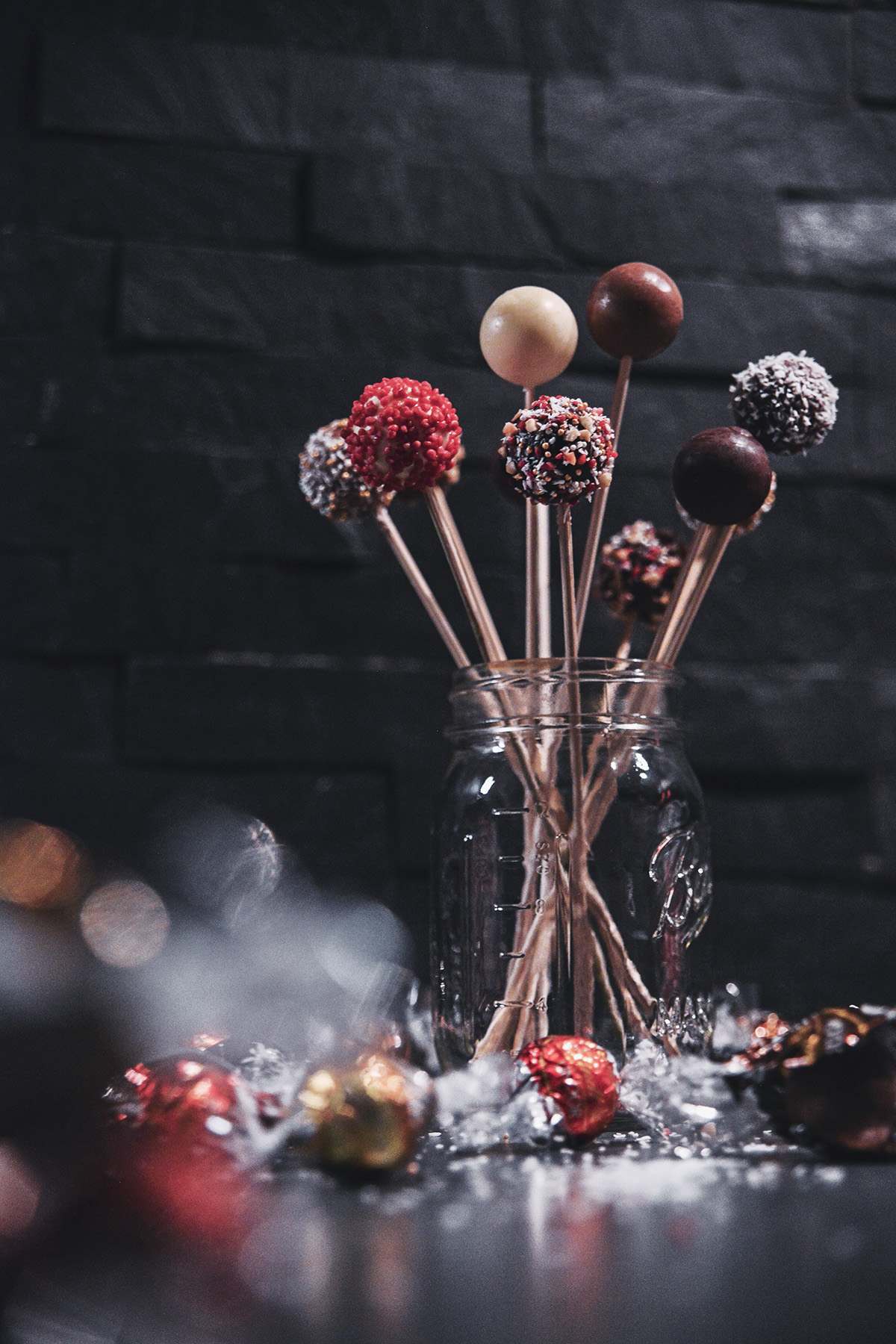 Chokladpops med Lindorkulor