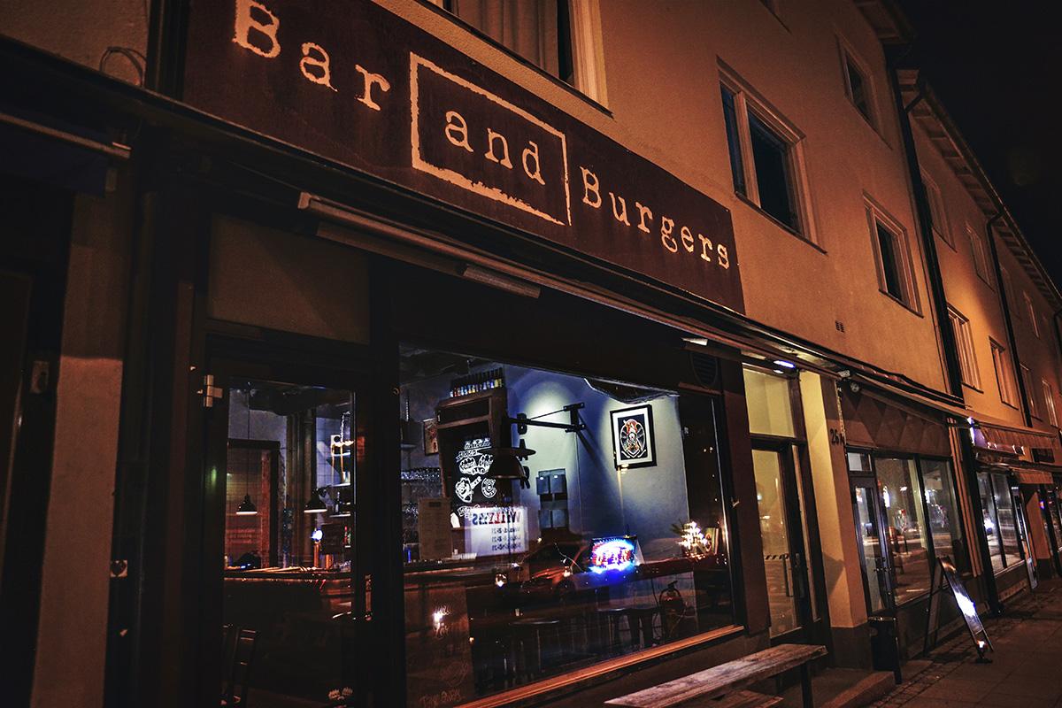 Bar and Burgers i Nynäshamn