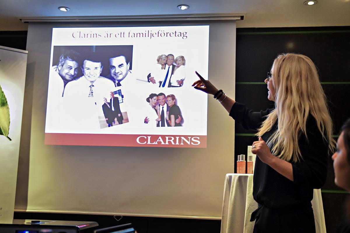 Clarins - familjeföretag