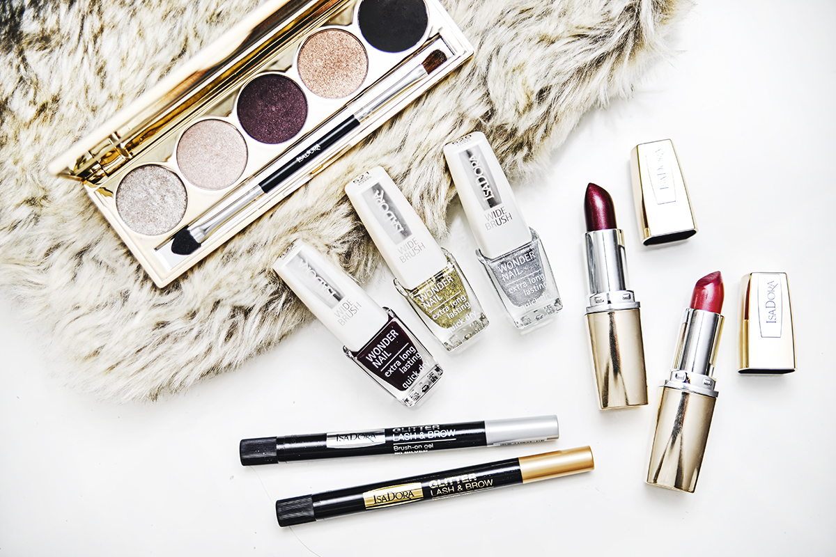 IsaDora Golden Edition Holiday Makeup 2015