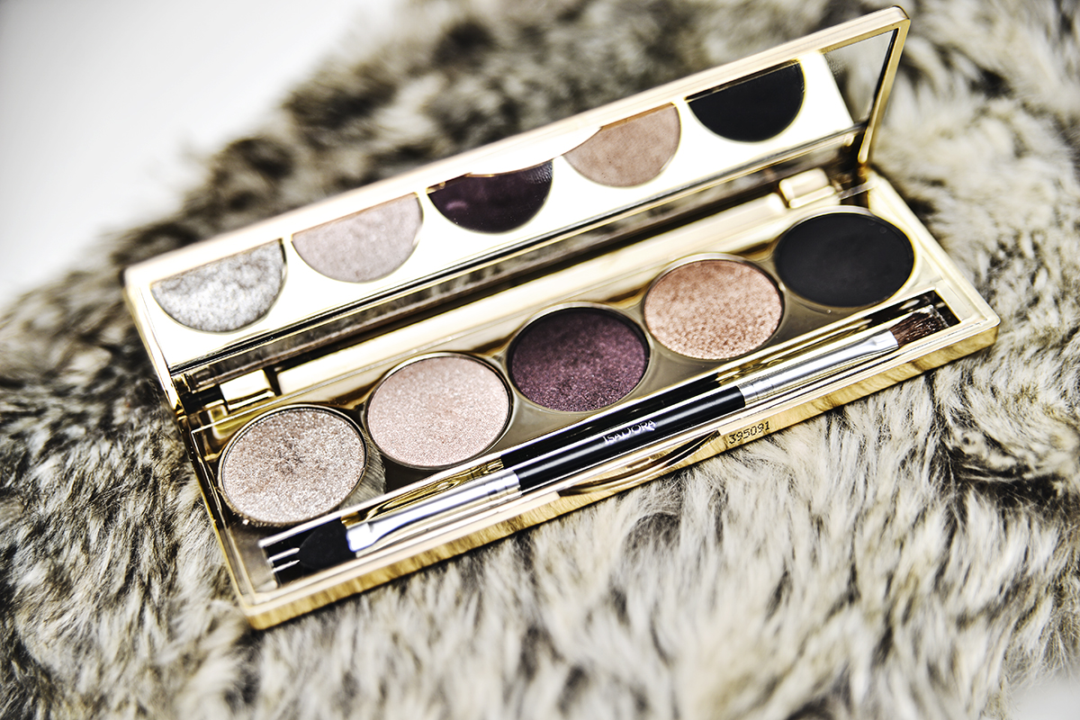 Isadora Eye Shadow Palette Golden Edition 65 Golden Eyes