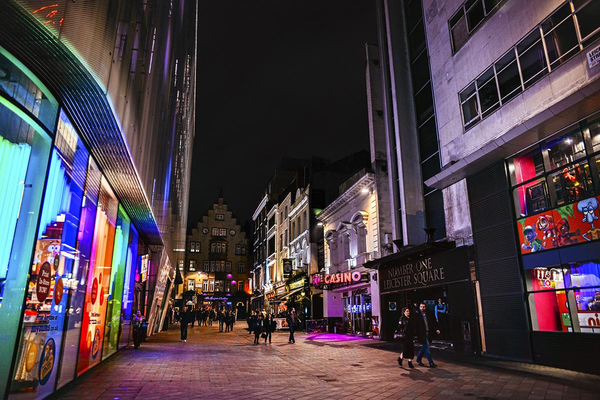 London M&M Store