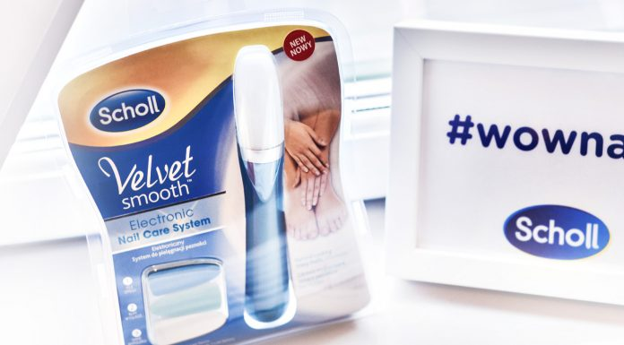 Scholl Elektronisk nagelfil - Velvet Smooth Electronic Nail Care System