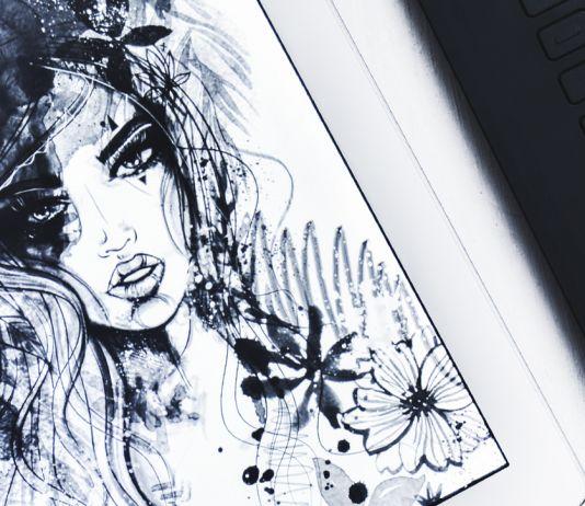 Boho girl illustration