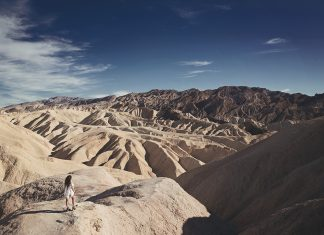 Feeling small in Death Valley National Park