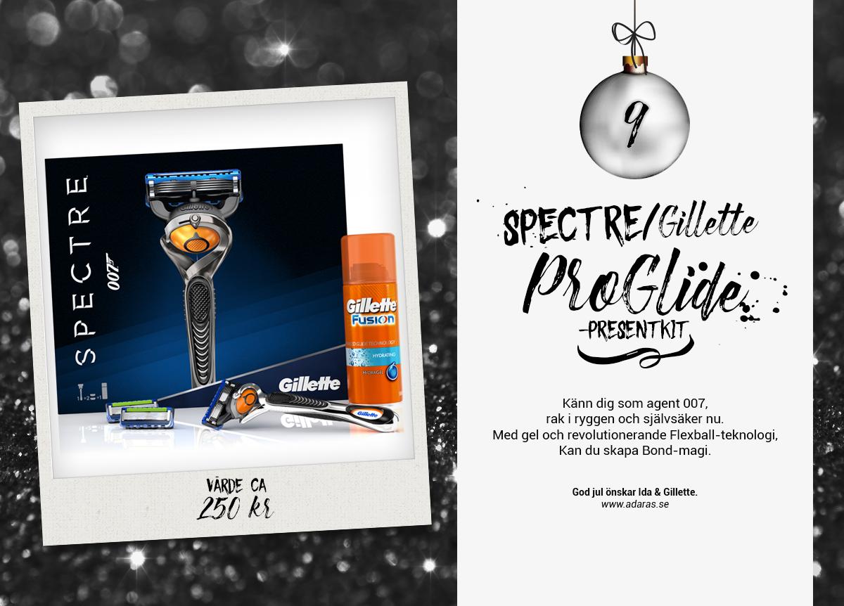 SPECTRE/Gillette Fusion ProGlide Presentkit