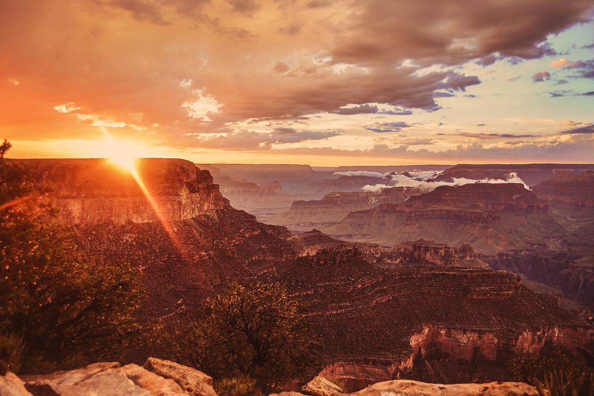 Bildresultat för grand canyon solnedgång