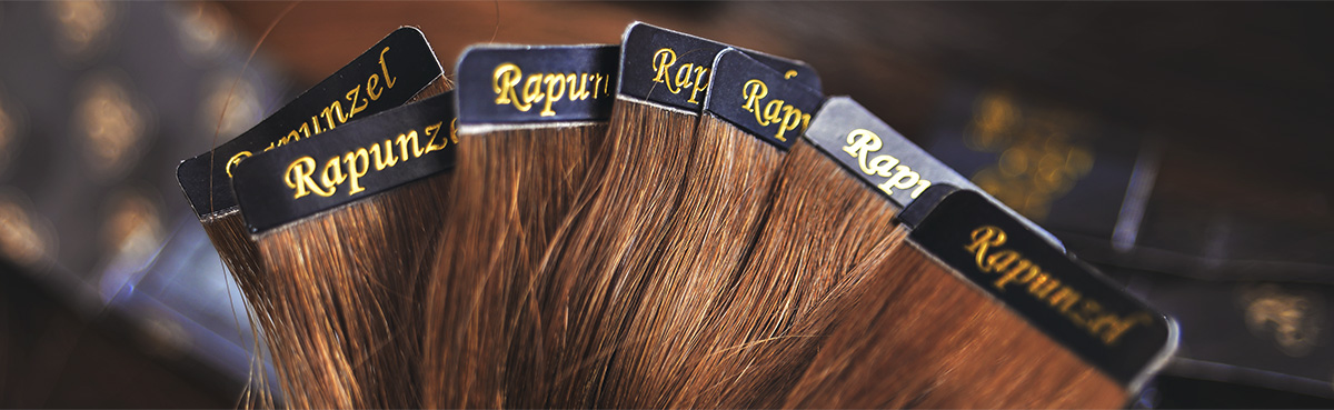 Rapunzel of Sweden Tape hair extensions