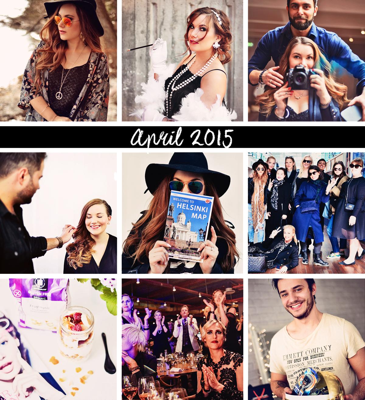 Årsresumé - April 2015