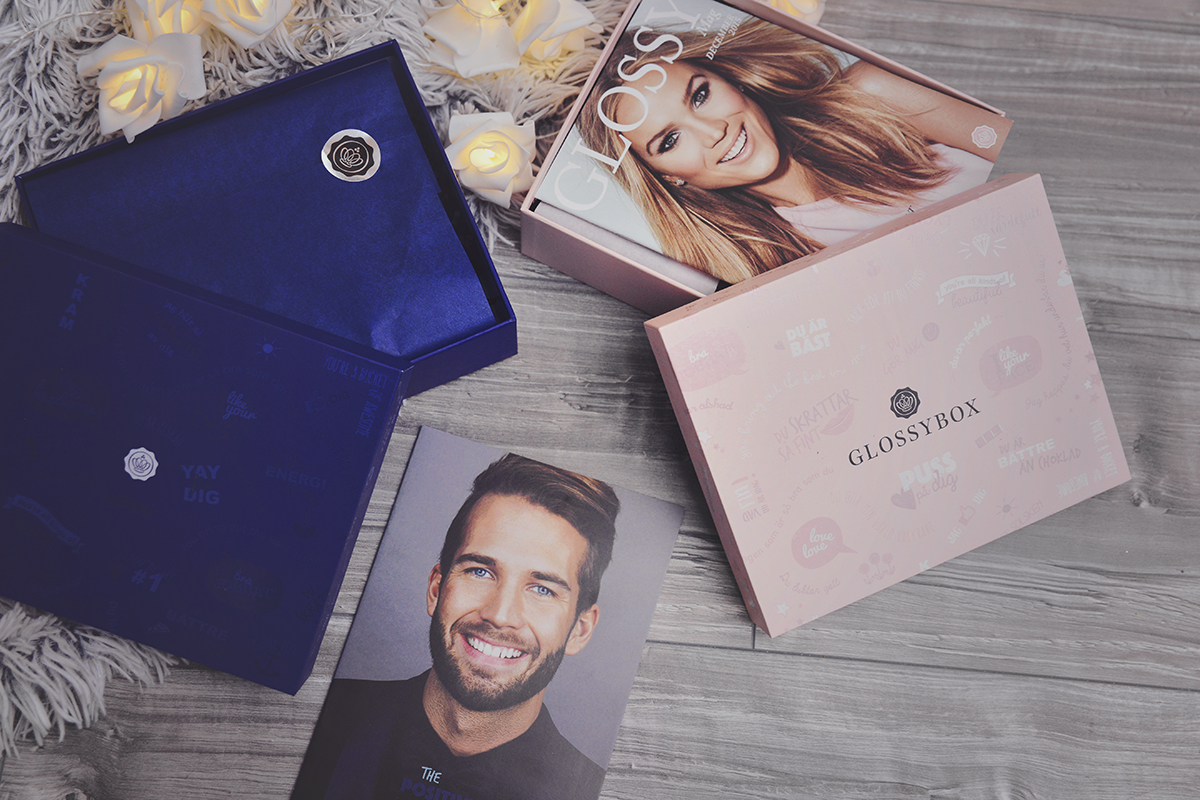 Glossybox & The Man Box - The Positivity Box